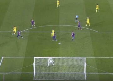 Sancho Goal Barcelona