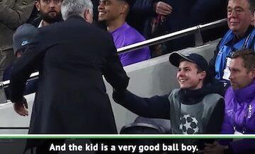 Tottenham Ball Boy