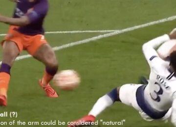 Handball Rule in Soccer