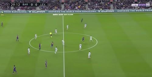 Messi Through Ball Fati