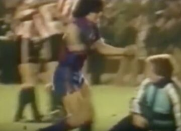 Maradona Fight