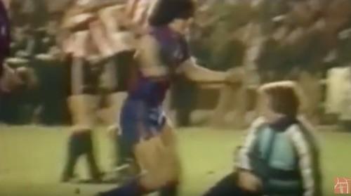 Maradona Fight