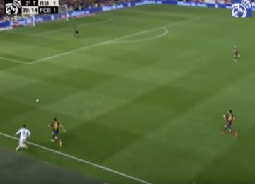 Gareth Bale Goal Versus Barcelona