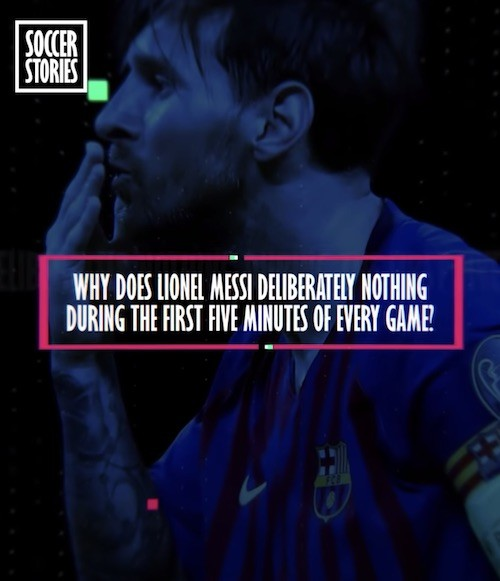 Messi First Five