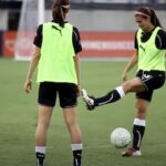 Alex Morgan Soccer Trick