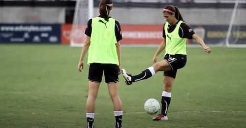 Alex Morgan Soccer Trick