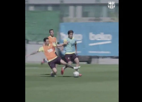 Messi Slide Tackle