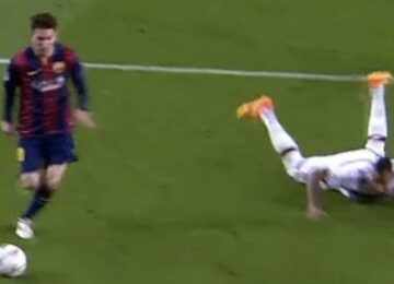 Messi Embarrassed Boateng
