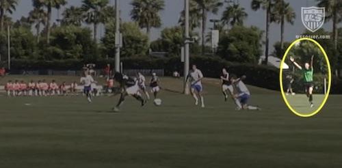 Advantage Rule in Soccer