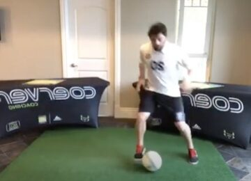 Soccer Training at Home: Coerver Ball Mastery Live