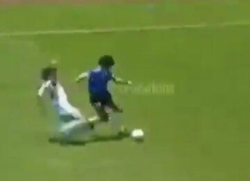 Maradona Hacked By England