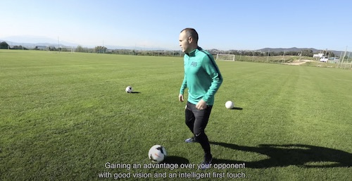 Iniesta Football Method