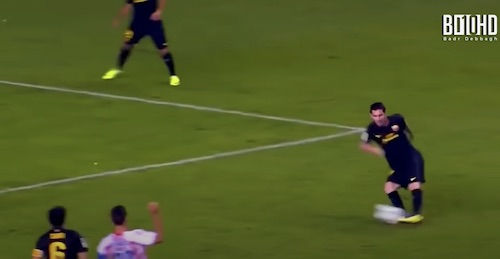 Messi Cutting Pass - Vision on the Field