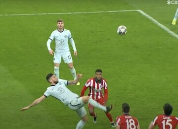 Giroud Bicycle Kick Goal