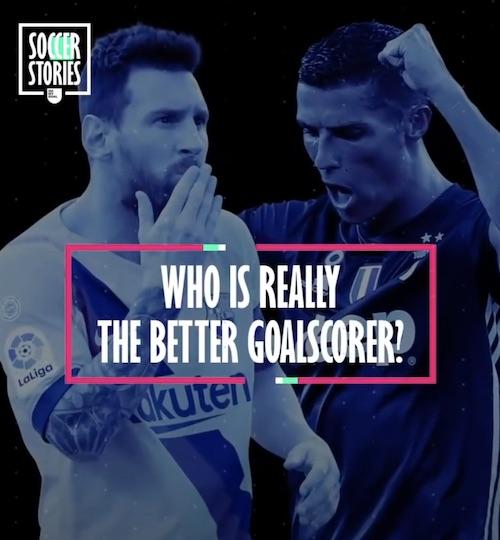 Cristiano Versus Messi Goalscoring