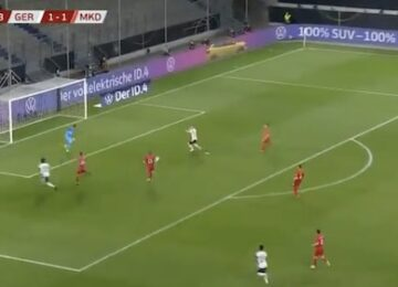 Timo Werner Open Goal Miss