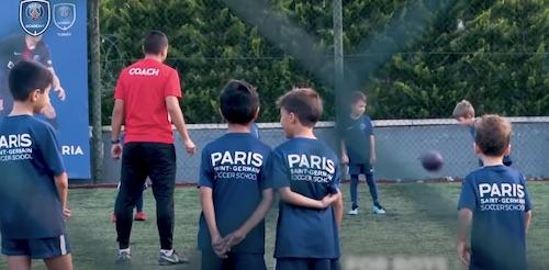 Paris Saint-Germain Academy in Florida