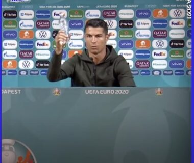 Cristiano Ronaldo Say Drink Water Not Coke