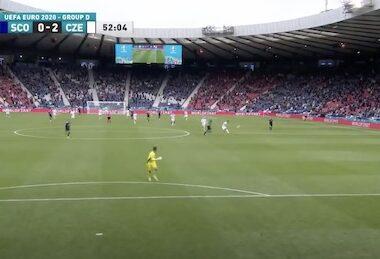 zech Republic's Patrik Schick Scores 50-yarder Verus Scotland