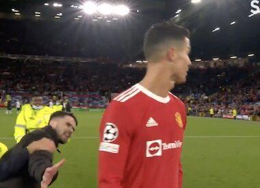 Cristiano Ronaldo Pitch Invader